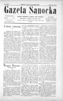 Gazeta Sanocka,1906, nr 108