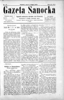 Gazeta Sanocka,1906, nr 111
