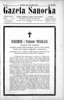 Gazeta Sanocka,1906, nr 112
