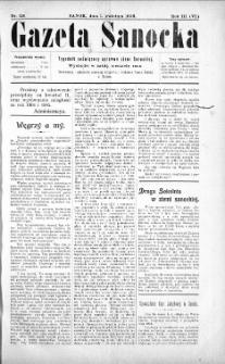 Gazeta Sanocka,1906, nr 118