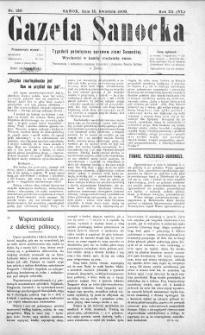 Gazeta Sanocka,1906, nr 120