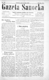 Gazeta Sanocka,1906, nr 123