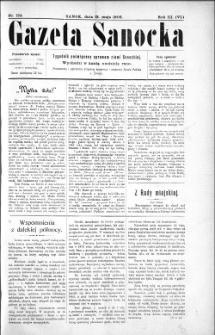Gazeta Sanocka,1906, nr 124