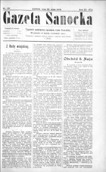 Gazeta Sanocka,1906, nr 125