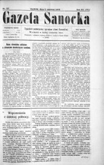 Gazeta Sanocka,1906, nr 127