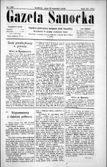 Gazeta Sanocka,1906, nr 129
