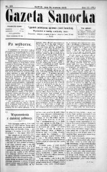 Gazeta Sanocka,1906, nr 130