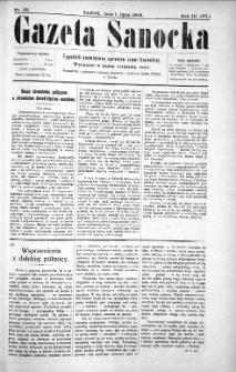 Gazeta Sanocka,1906, nr 131