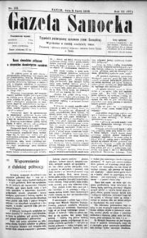 Gazeta Sanocka,1906, nr 132