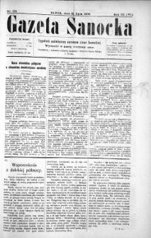 Gazeta Sanocka,1906, nr 133