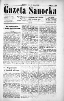 Gazeta Sanocka,1906, nr 134
