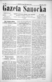 Gazeta Sanocka,1906, nr 135