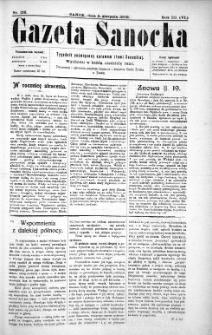 Gazeta Sanocka,1906, nr 136