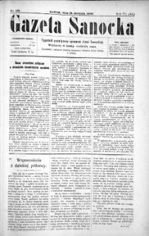 Gazeta Sanocka,1906, nr 138