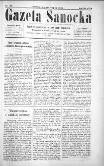 Gazeta Sanocka,1906, nr 139