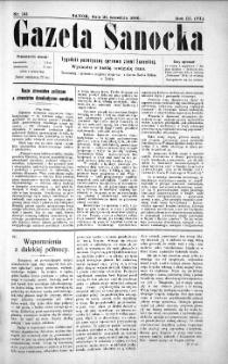 Gazeta Sanocka,1906, nr 141