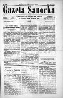 Gazeta Sanocka,1906, nr 143