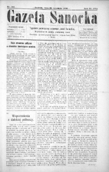 Gazeta Sanocka,1906, nr 144