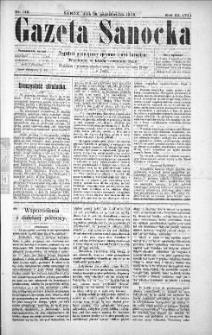 Gazeta Sanocka,1906, nr 148