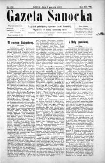 Gazeta Sanocka,1906, nr 153