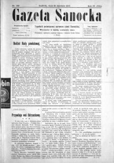 Gazeta Sanocka, 1907, nr 159