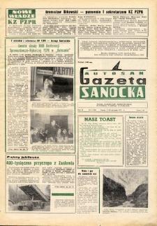 "Gazeta Sanocka ""Autosan"", 1975, nr 1-2"