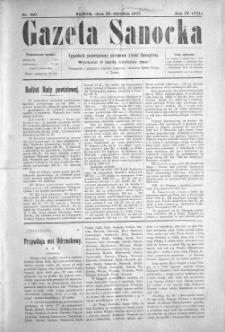 Gazeta Sanocka, 1907, nr 160