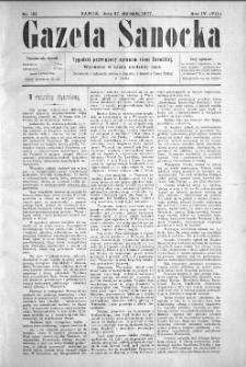 Gazeta Sanocka, 1907, nr 161