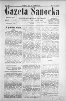 Gazeta Sanocka, 1907, nr 164