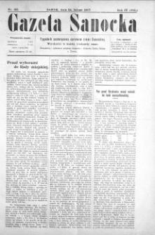 Gazeta Sanocka, 1907, nr 165