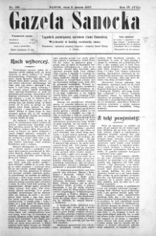 Gazeta Sanocka, 1907, nr 166