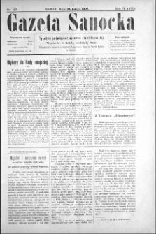 Gazeta Sanocka, 1907, nr 167
