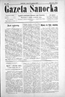 Gazeta Sanocka, 1907, nr 168