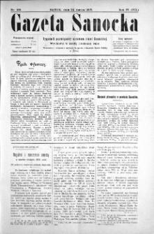 Gazeta Sanocka, 1907, nr 169