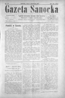 Gazeta Sanocka, 1907, nr 171