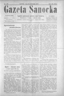 Gazeta Sanocka, 1907, nr 173