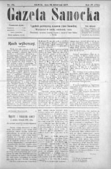 Gazeta Sanocka, 1907, nr 174