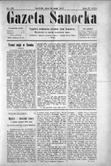 Gazeta Sanocka, 1907, nr 176