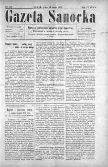 Gazeta Sanocka, 1907, nr 177