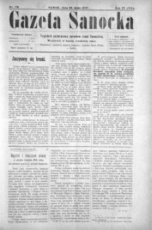 Gazeta Sanocka, 1907, nr 178