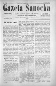 Gazeta Sanocka, 1907, nr 179