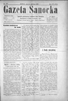 Gazeta Sanocka, 1907, nr 180