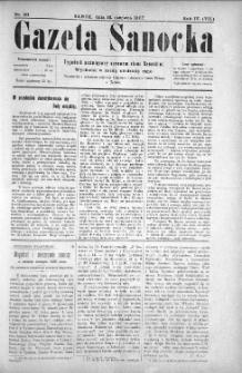 Gazeta Sanocka, 1907, nr 181