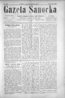 Gazeta Sanocka, 1907, nr 182