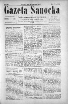 Gazeta Sanocka, 1907, nr 183