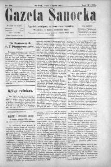 Gazeta Sanocka, 1907, nr 184