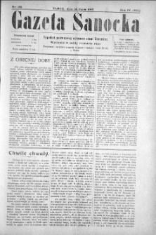 Gazeta Sanocka, 1907, nr 185