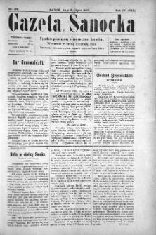 Gazeta Sanocka, 1907, nr 186