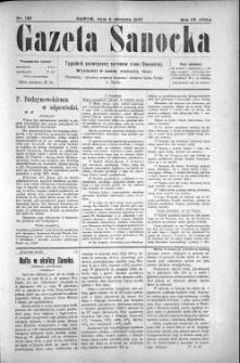 Gazeta Sanocka, 1907, nr 188