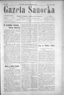 Gazeta Sanocka, 1907, nr 189